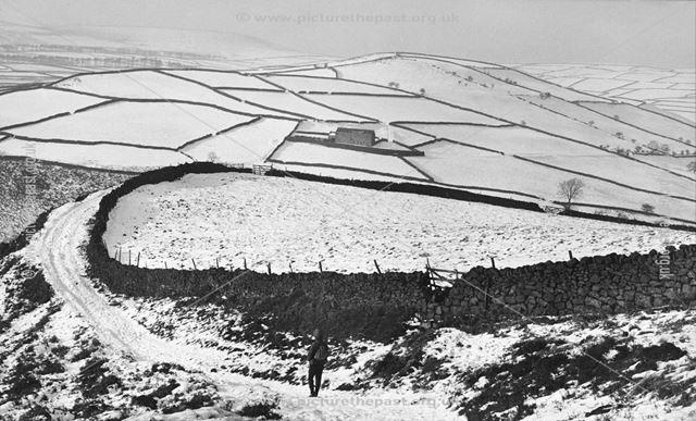 Abney Moor on Winters Day, Abney, 1965-6