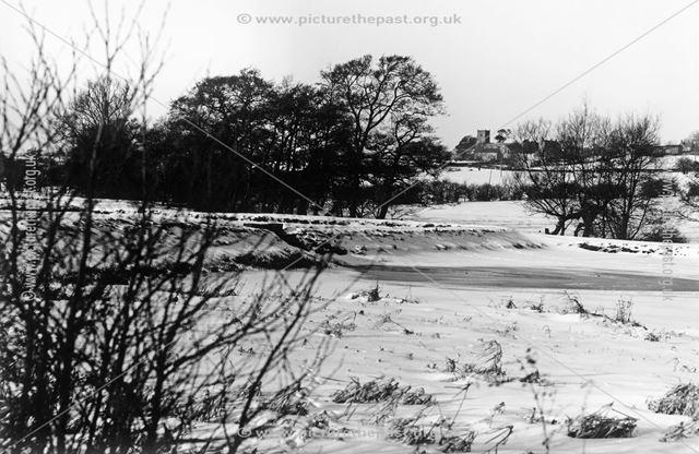 Mercaston Trout Farm, off Mercaston Lane, Muggington, 1963
