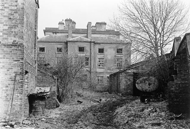 Stainsby House Prior to Demolition, Main Road, Smalley, 1972