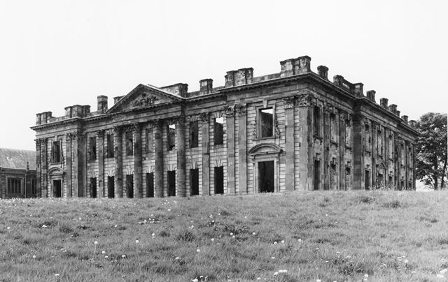 Ruins of North Front of Sutton Scarsdale Hall, Hall Drive, Sutton Scarsdale, 2008