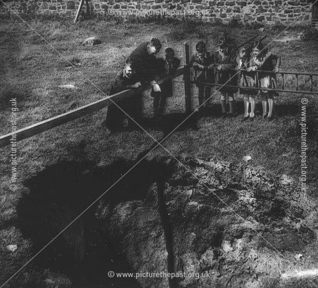 Old Lead Mine, Ashover, Derbyshire, c 1930