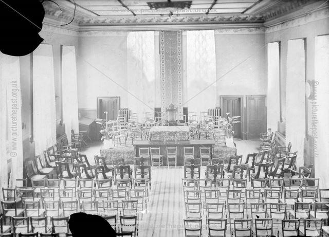 Council Chamber, Town Hall, Ilkeston, c 1900s ?