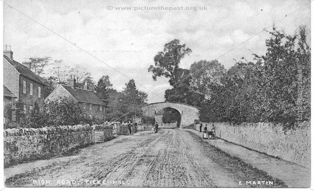 Main Street, Ticknall, c 1905