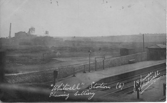 Whitwell Station and Colliery