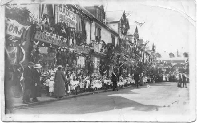 Royal Visit to Shirebrook, June 25th 1914