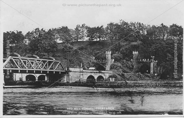 Red Hill Tunnel, Thrumpton, c 1900s