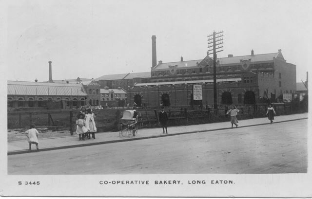 Co-Operative Bakery, Derby Road, Long Eaton, c 1910?