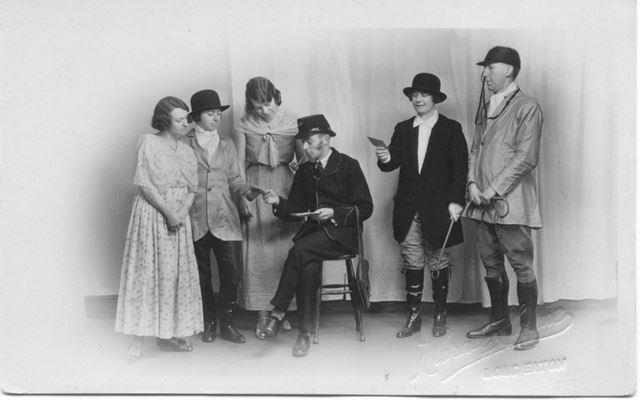 Studio Photo, possibly for a play, Long Eaton, c 1910s?