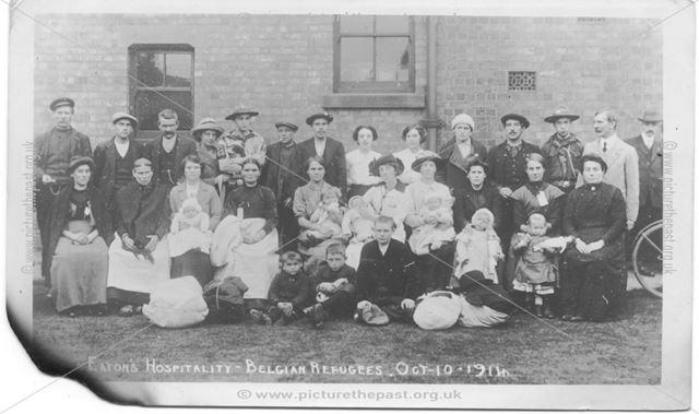 Long Eaton's Hospitality - Belgian Refugees, 1913?