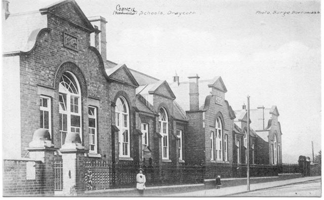 Council Schools, Hopewell Road, Draycott, c 1910s
