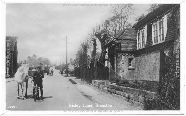 Duck Lane, Breaston, c 1913 ?
