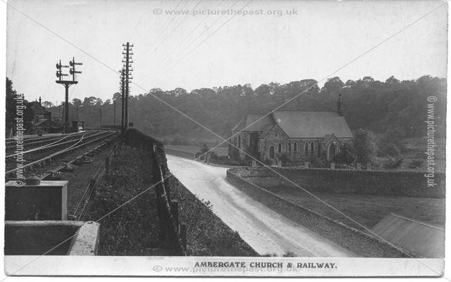 Ambergate Church and Railway