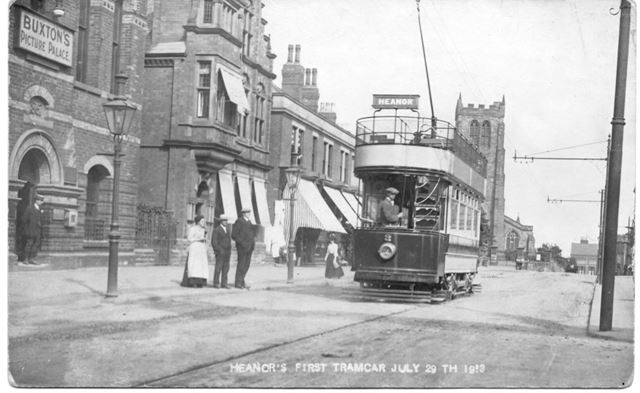 Heanors First Tramcar