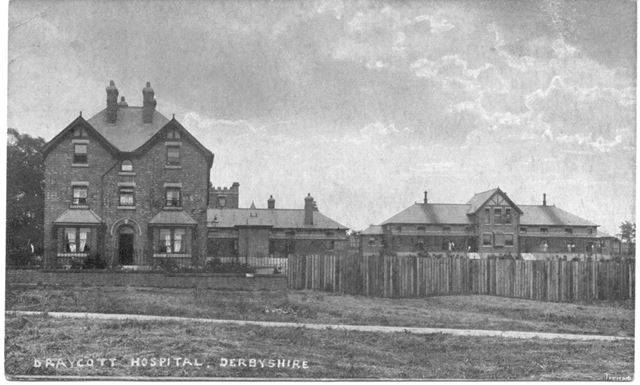 Draycott Isolation Hospital, off Hopwell Road, Draycott, c 1920s?