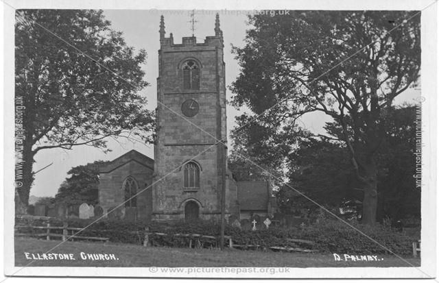 Ellastone Church