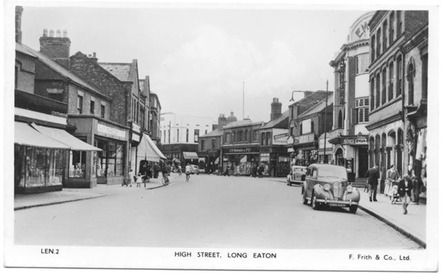 High Street, Long Eaton, 1950s