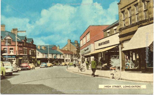 High Street, Long Eaton, 1960s