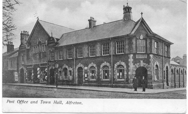 Post Office and Town Hall, Alfreton