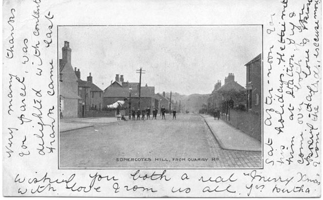 Somercotes Hill from Quarry Road