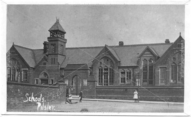 Schools, Pilsley, c 1910 ?