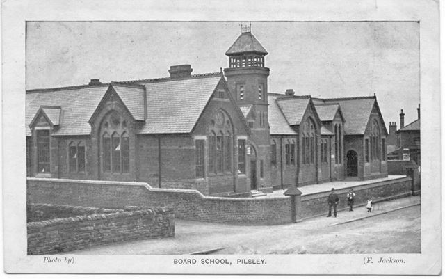 Board School, Pilsley, c 1910 ?
