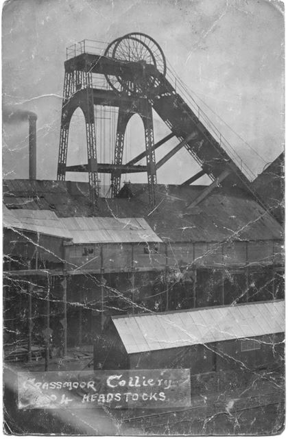 Grassmoor Colliery.. Headstocks