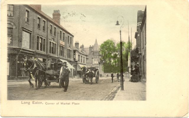 Corner of Market place, Long Eaton
