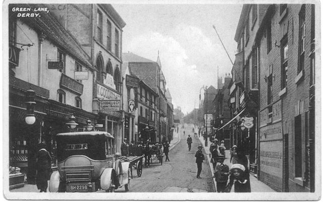 Green Lane, Derby, c 1910s