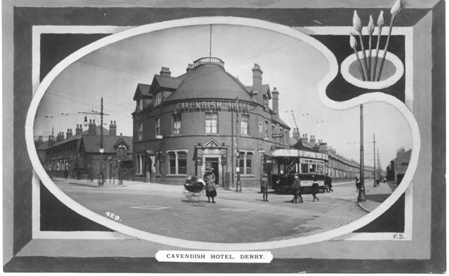 Cavendish Hotel, Normanton, Derby, c 1911