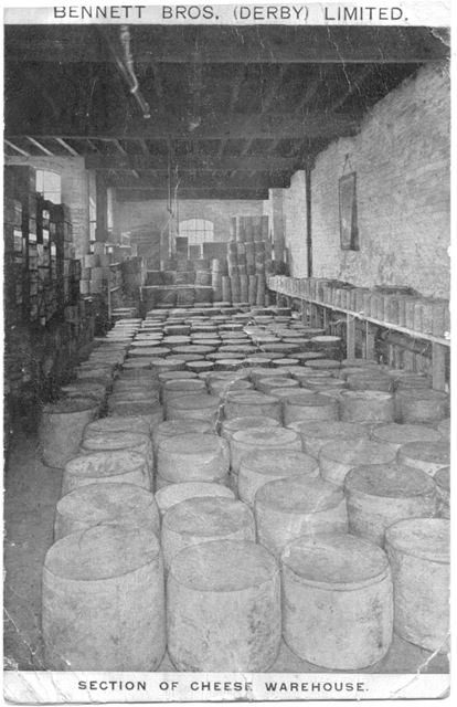 Bennet Bros. Cheese warehouse