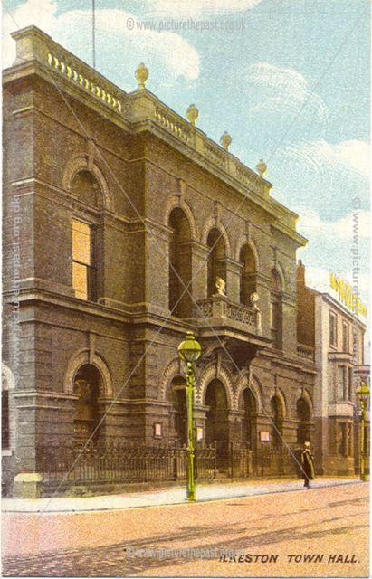 Ilkeston Town Hall, c 1905