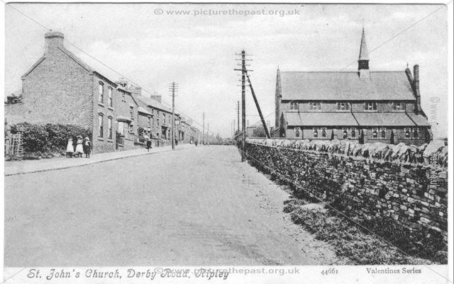 St John's Church, Derby Road, Ripley
