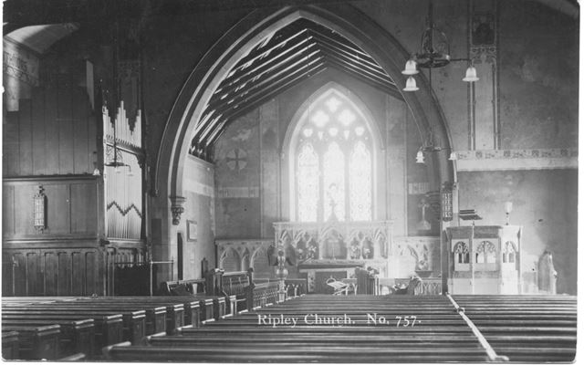 Interior of Ripley Church