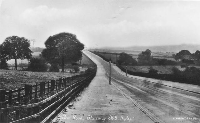 New road, Hartshay Hill, Ripley