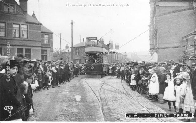 Ripley's First Tram, c 1913