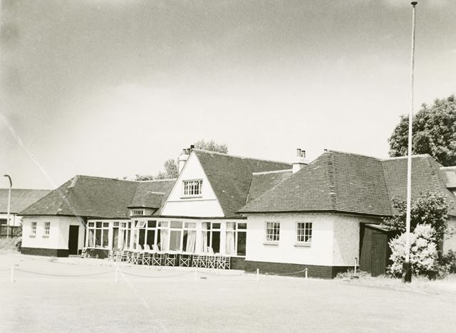 Chilwell Manor Club House, Meadow Lane, Chilwell, c 1960s