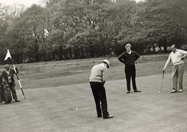 Pro-Am Golf Competition at Wollaton Park Golf Course, Wollaton, Nottingham, 1960s