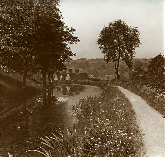 Comford Canal, Sawmills, c 1930s