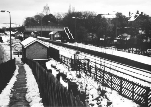 Dronfield Railway Station, Chesterfield Road