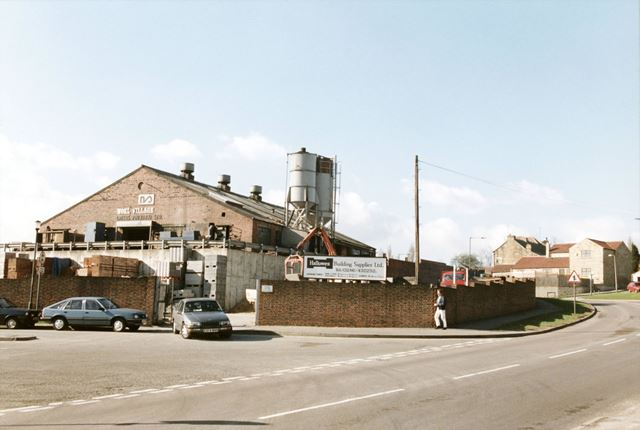 Noel Village (Steel Foundry) Ltd and Hallowes Building Supplies yard.
