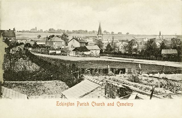 Eckington Parish Church and Cemetery