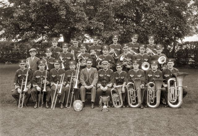 Hardwick Colliery Silver Prize Band