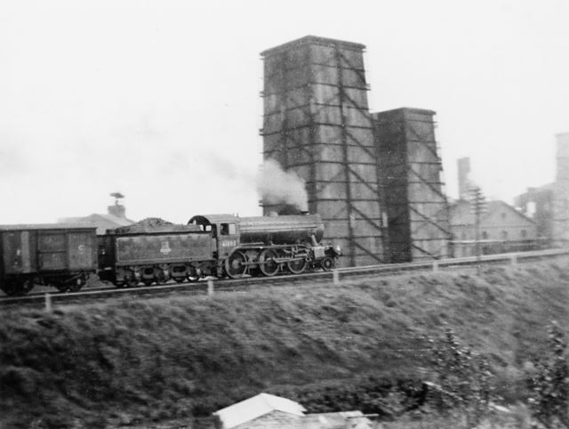 Holmewood pit and railway