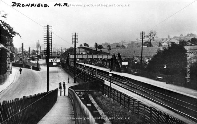 Dronfield Railway Station c 1930