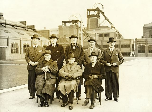 'The Modernisation of Williamthorpe Colliery 1938-40' - Directors and Managers
