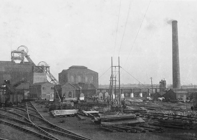 'The Modernisation of Williamthorpe Colliery 1938-40' - Shops, Winders and Boiler House, before impr