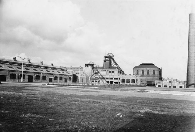 'The Modernisation of Williamthorpe Colliery 1938-40' - Shops, Winders and Boiler House, after impro