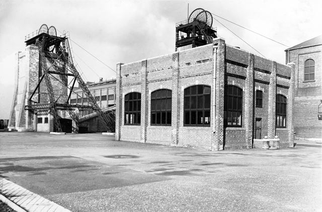 'The Modernisation of Williamthorpe Colliery 1938-40' -No. 1 pit Electric Winding House, after impro