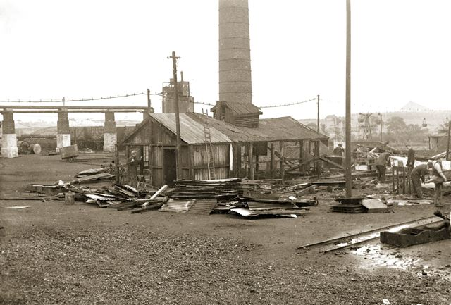 'The Modernisation of Williamthorpe Colliery 1938-40' - Engineering shops and stores, before improve