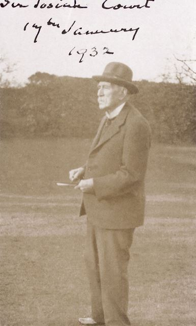 Dr Josiah Court of Staveley, 1932